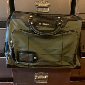 Diesel real lather brief case style bag!